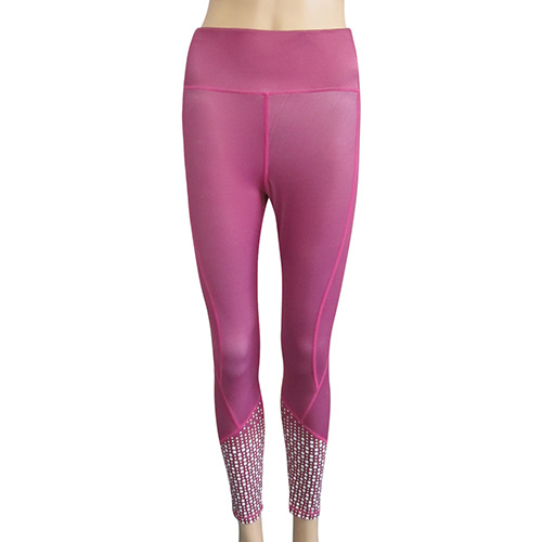 sports pink leggings 9076 (1)
