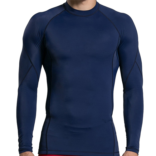 Mens Compression Long Sleeve Shirt 6156 (2)