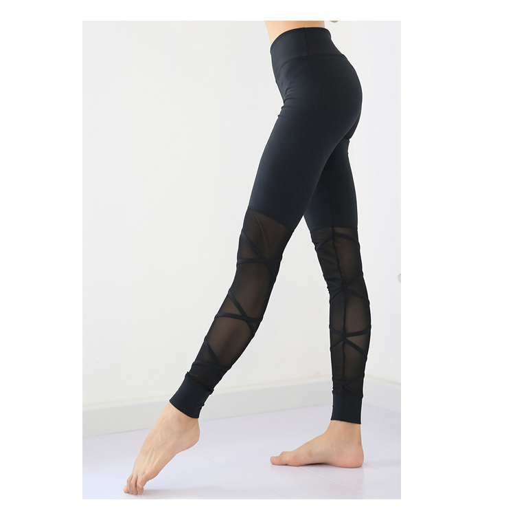 Sports Leggings With Mesh S4007 (2)