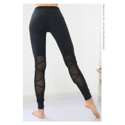 Sports Leggings With Mesh S4007  (6)